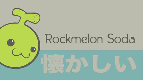 Rockmelon Soda logo